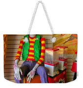Creepy Clown Weekender Tote Bag