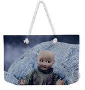 Creepy Doll Weekender Tote Bag