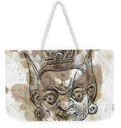 Creepy Mask Weekender Tote Bag