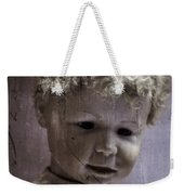 Creepy Old Doll Weekender Tote Bag