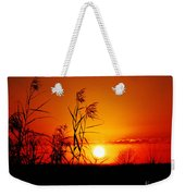 Creole Trail Sunset Weekender Tote Bag