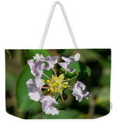 Crepe Myrtle Blossom Ring Weekender Tote Bag