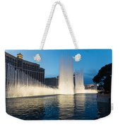 Crescendo - The Glorious Fountains At Bellagio Las Vegas Weekender Tote Bag
