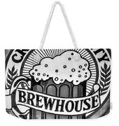 Crescent City Brewhouse - Bw Weekender Tote Bag
