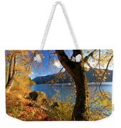 Crescent Through The Woods Weekender Tote Bag