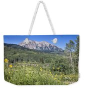Crested Butte Scenery Weekender Tote Bag