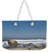 Crestwaves On A California Beach Weekender Tote Bag