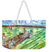 Cricket-day Weekender Tote Bag