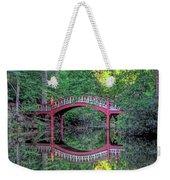 Crim Dell Bridge In Summer Weekender Tote Bag