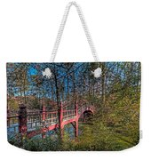 Crim Dell Bridge Spring Weekender Tote Bag
