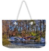 Crim Dell In Winter William And Mary Weekender Tote Bag
