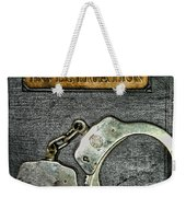 Crime Scene Investigation Weekender Tote Bag by Paul Ward