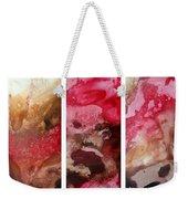 Crimson Cream Original Painting Madart Weekender Tote Bag