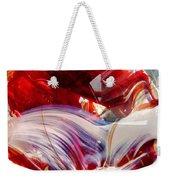 Crimson Orb Weekender Tote Bag