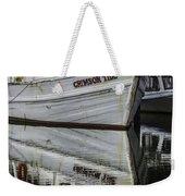 Crimson Tide And Reflection Weekender Tote Bag