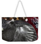 Crimson Tide For Christmas Weekender Tote Bag by Kathy Clark