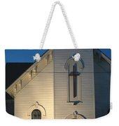 Cris-cross Weekender Tote Bag