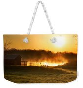 Crisp Spring Morning Weekender Tote Bag