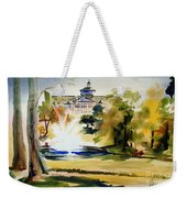 Crisp Water Fountain At The Baptist Home II Weekender Tote Bag