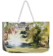 Crisp Water Fountain At The Baptist Home IIi Weekender Tote Bag