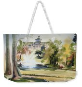 Crisp Water Fountain At The Baptist Home  Weekender Tote Bag by Kip DeVore