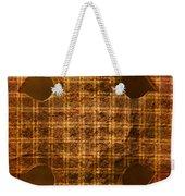 Criss-cross Weekender Tote Bag
