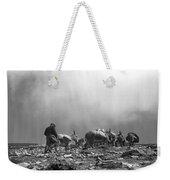 Donkey Train On Croagh Patrick Weekender Tote Bag