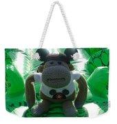 Croc Riding Monkey Weekender Tote Bag