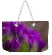 Crocus Purple Haze Weekender Tote Bag
