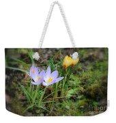 Crocuses In Bloom Weekender Tote Bag
