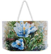 Crocuses Weekender Tote Bag