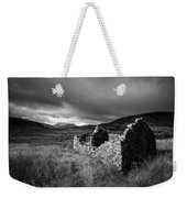 Crofters Cottage Ruin Weekender Tote Bag