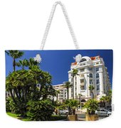Croisette Promenade In Cannes Weekender Tote Bag by Elena Elisseeva