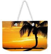 Crooked Palm Weekender Tote Bag