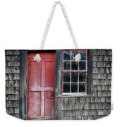 Crooked Red Door Weekender Tote Bag