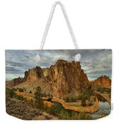 Crooked River Bend Weekender Tote Bag