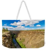 Crooked River Canyon And Bridge Weekender Tote Bag