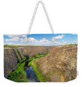 Crooked River Canyon Weekender Tote Bag