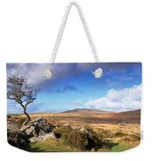 Crooked Tree At Feather Tor, Staple Weekender Tote Bag