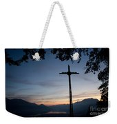 Cross On The Mountain Weekender Tote Bag