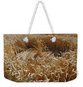 Crop Circle At Bishops Canning Weekender Tote Bag
