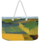 Crop Fields Weekender Tote Bag by Erin Fickert-Rowland