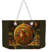 Croquet Crochet Ball Weekender Tote Bag by Robin Moline