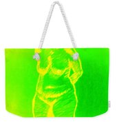 Croquis In Yellow And Green Weekender Tote Bag