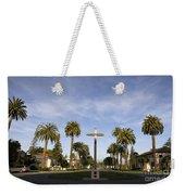 Cross And Palm Trees Mission Santa Clara Weekender Tote Bag