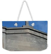 Religious Art Cross Architectural Weekender Tote Bag