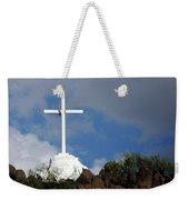 Cross At San Xavier - Tucson Weekender Tote Bag