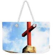 Cross Church Roof Weekender Tote Bag