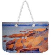 Cross' Coast Near Antibes Weekender Tote Bag