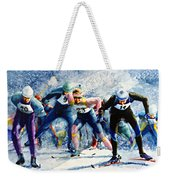 Cross-country Challenge Weekender Tote Bag by Hanne Lore Koehler